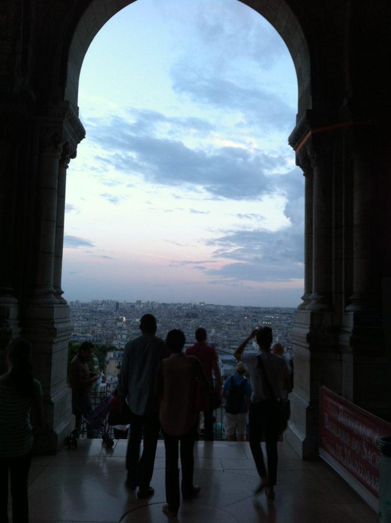 サクレ・クール寺院からみたパリの眺め