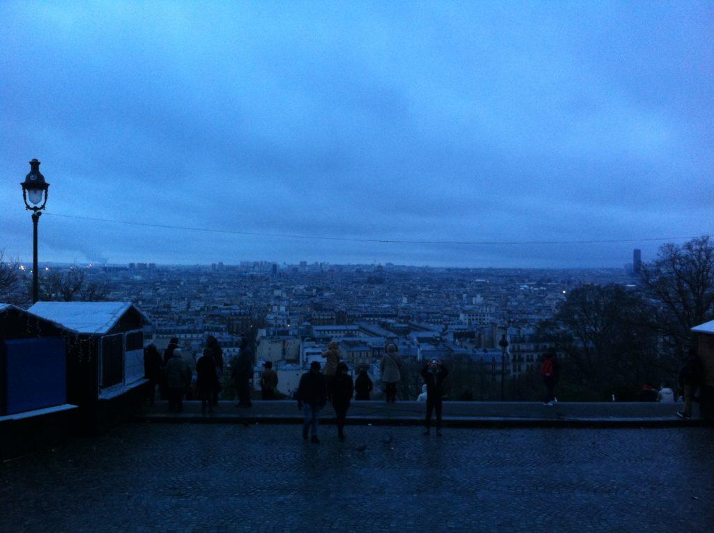サクレ・クール寺院から見たパリの眺め