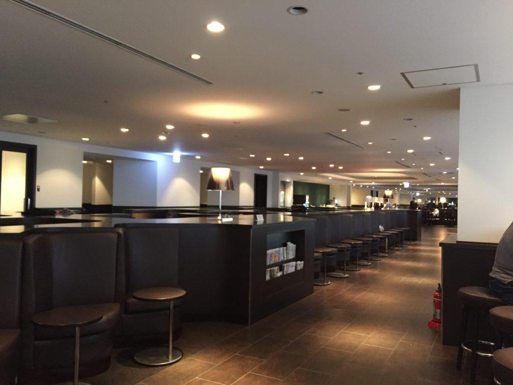 羽田空港のサクララウンジ