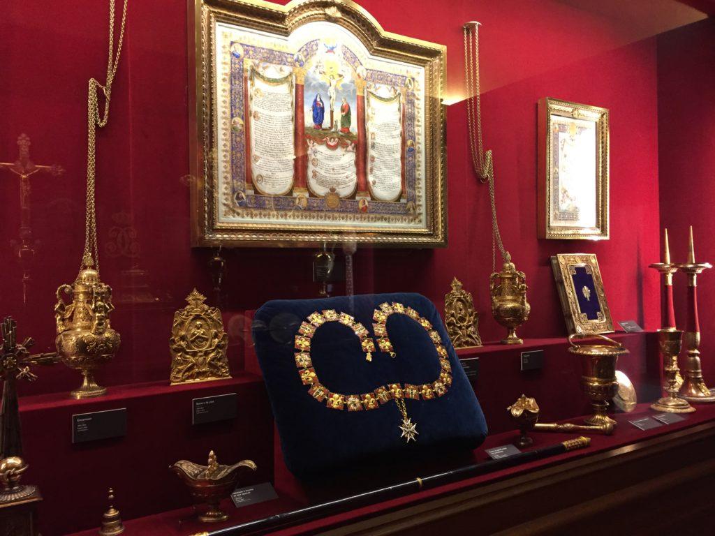 ランスのトー宮殿の装飾品