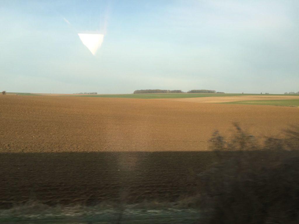フランスののんびりした景色