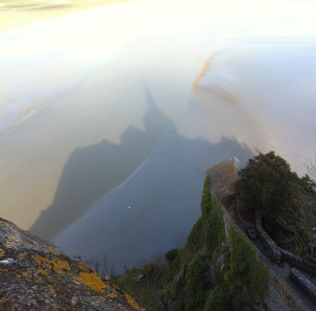 モン・サン・ミシェルの海