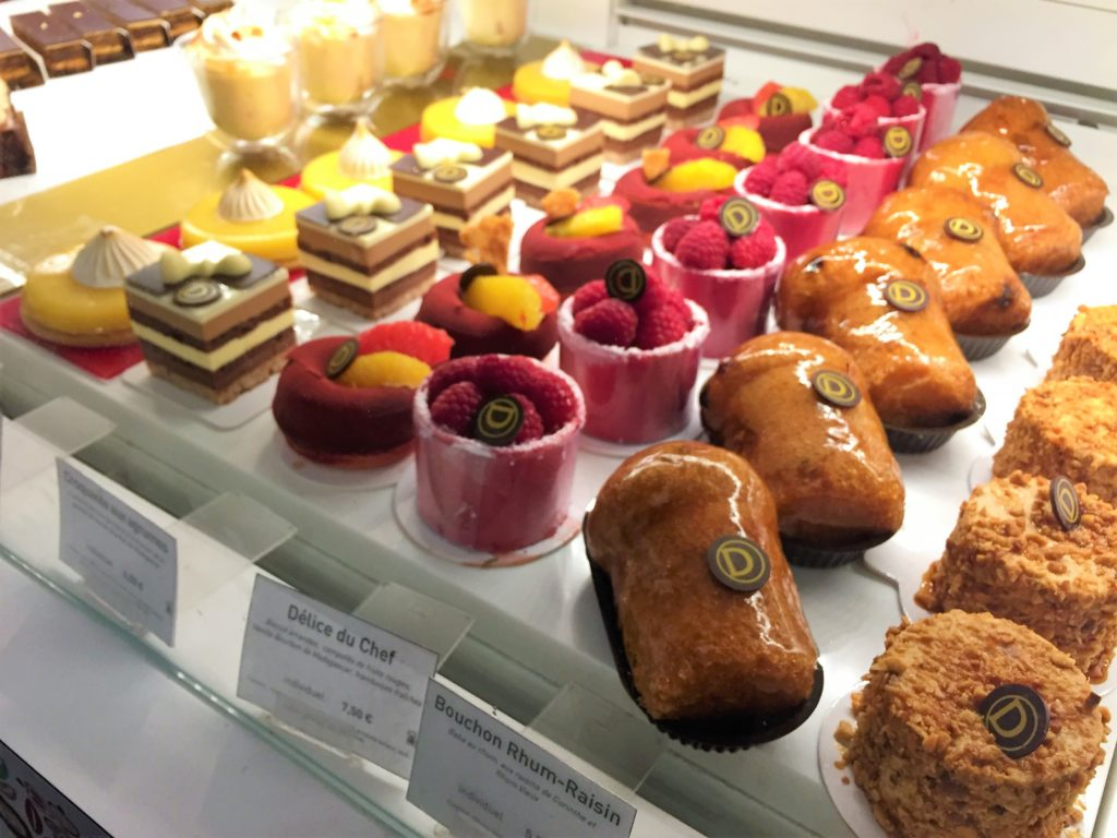 パリのケーキ屋さん
