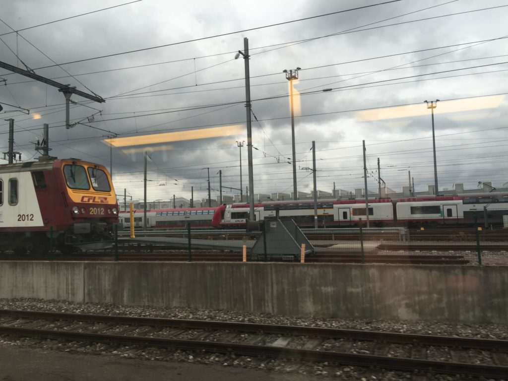 TGVの車窓から