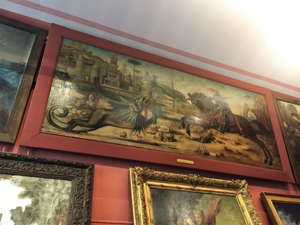 ギュスターヴ・モローの聖ゲオルギウスと竜