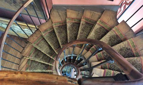 ギュスターヴ・モロー美術館の螺旋階段