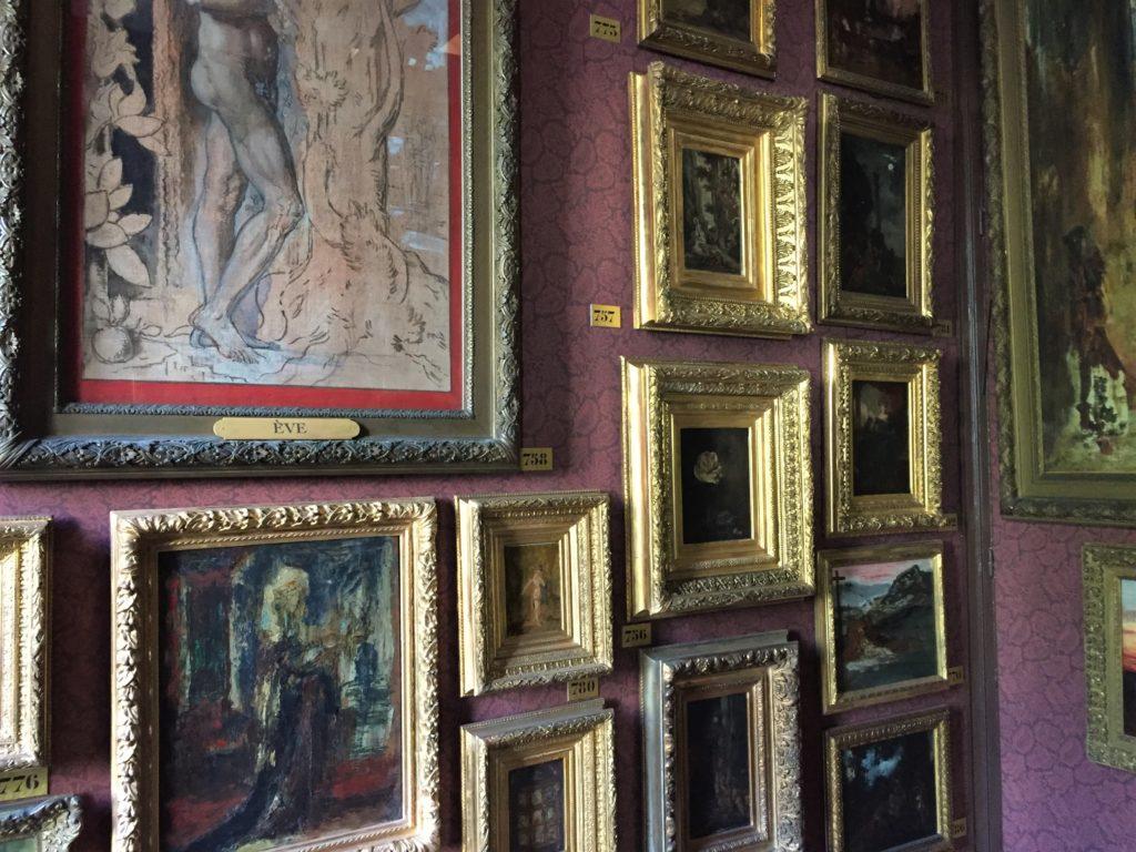ギュスターヴ・モロー美術館の1階の展示室