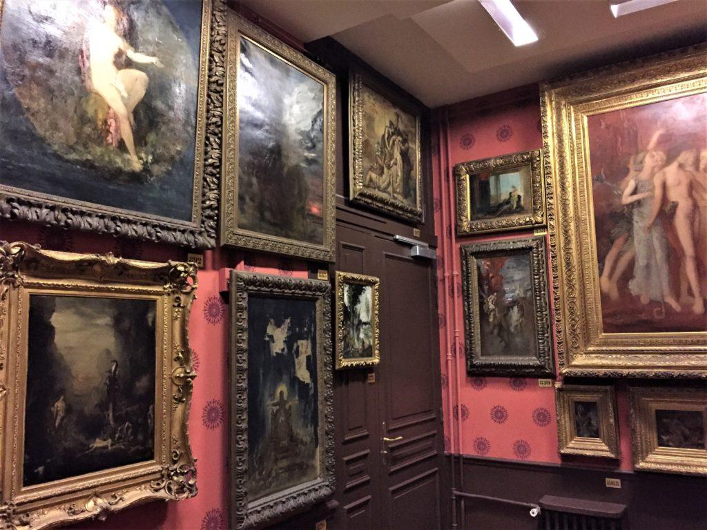 ギュスターヴ・モロー美術館の2階の展示室