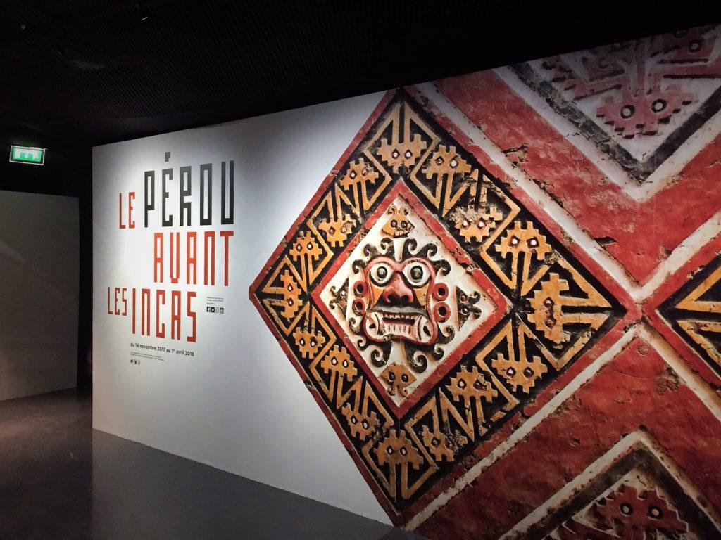 パリのケ・ブランリ美術館のペルー・インカ特別展