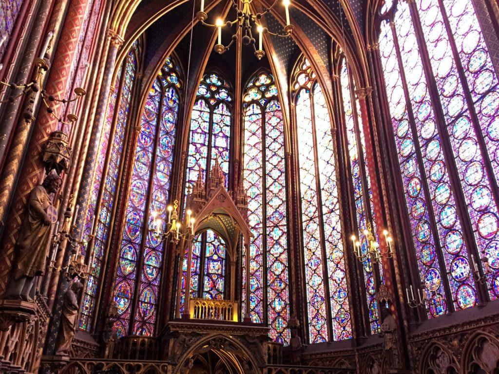 パリのサント・シャペルの祭壇
