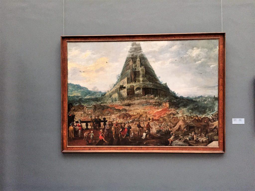 ベルギー王立美術館のヨース・デ・モンペル2世の「バベルの塔」