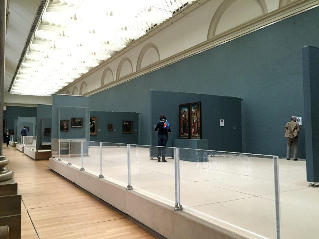 ベルギー王立美術館の展示