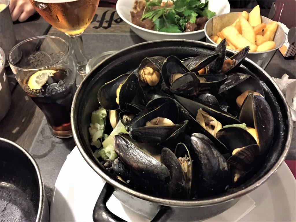 ブリュッセルのムール貝