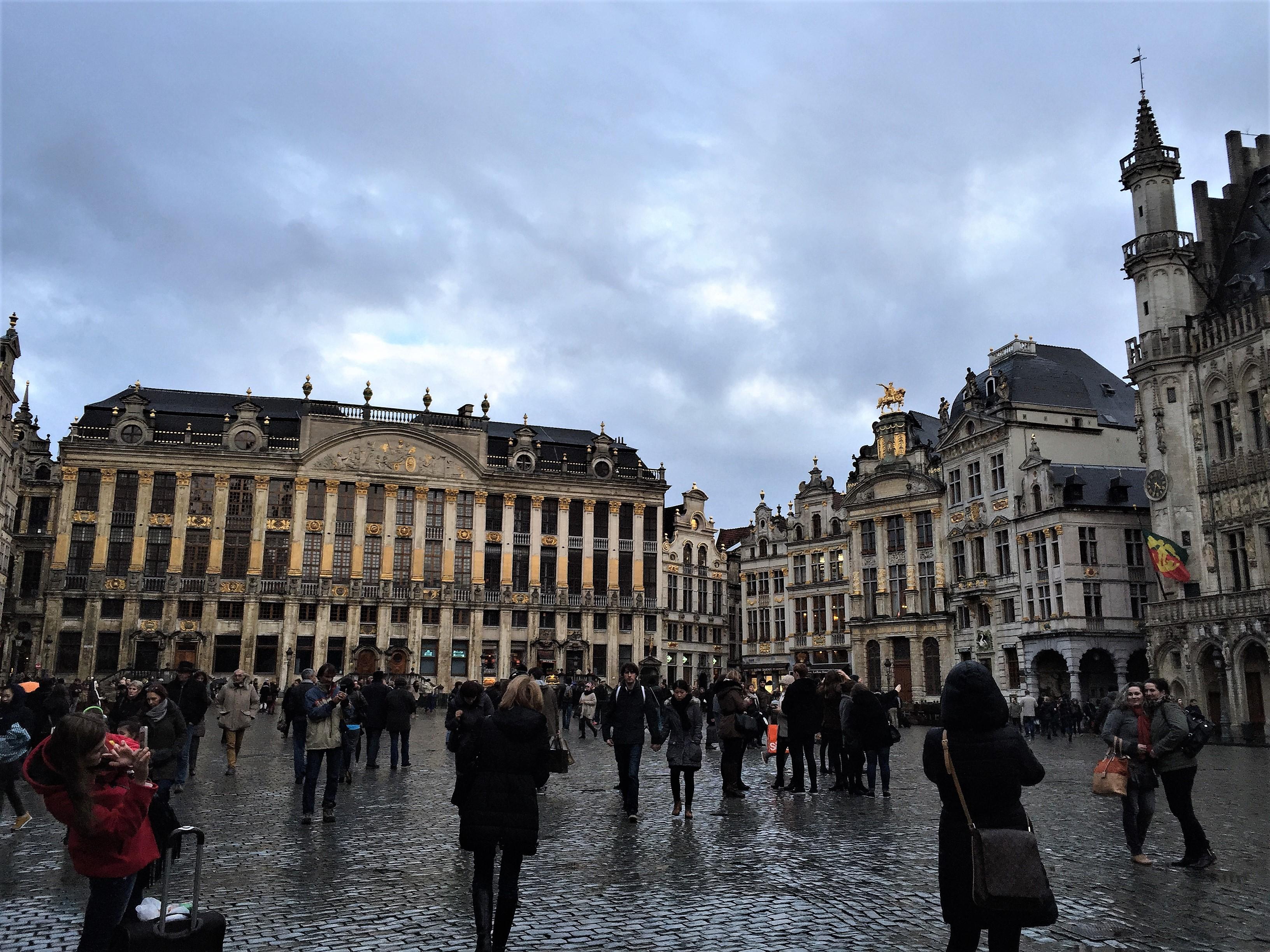 ベルギーの世界遺産のグラン=プラス