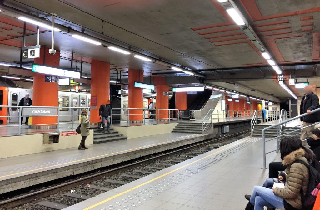 ブリュッセル・ミディ駅