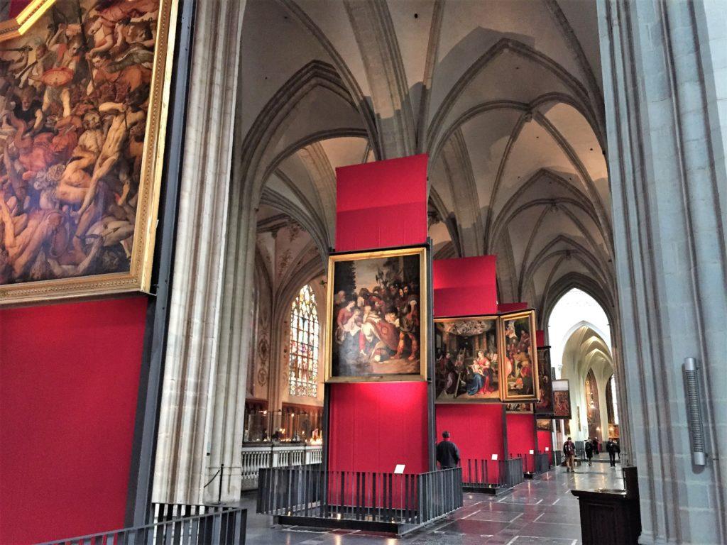 アントワープ聖母大聖堂の美術館