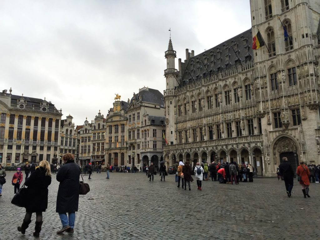 ベルギーの世界遺産:グラン=プラス