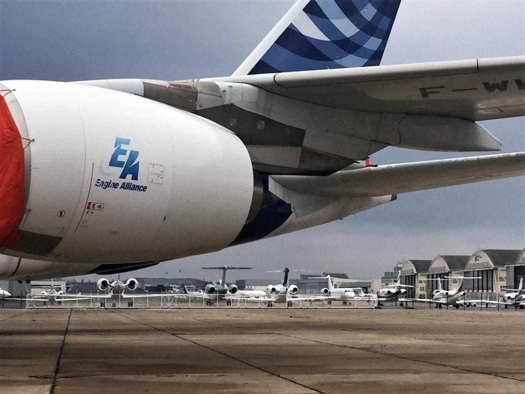 ル・ブルジェ空港のプライベートジェット