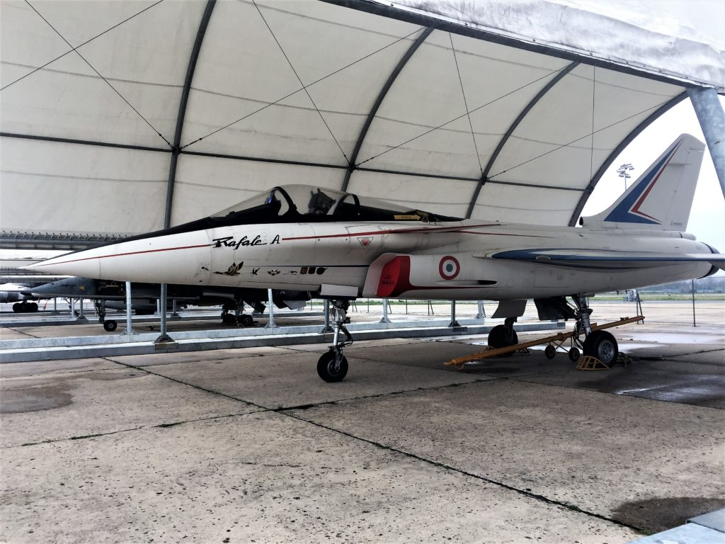 ル・ブルジェ航空宇宙博物館の戦闘機