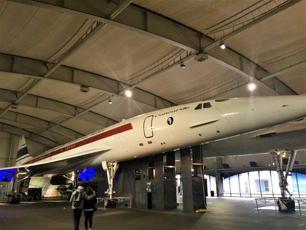 ル・ブルジェ航空宇宙博物館のコンコルドの試作機