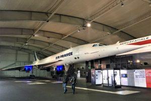 ル・ブルジェ航空宇宙博物館のコンコルド