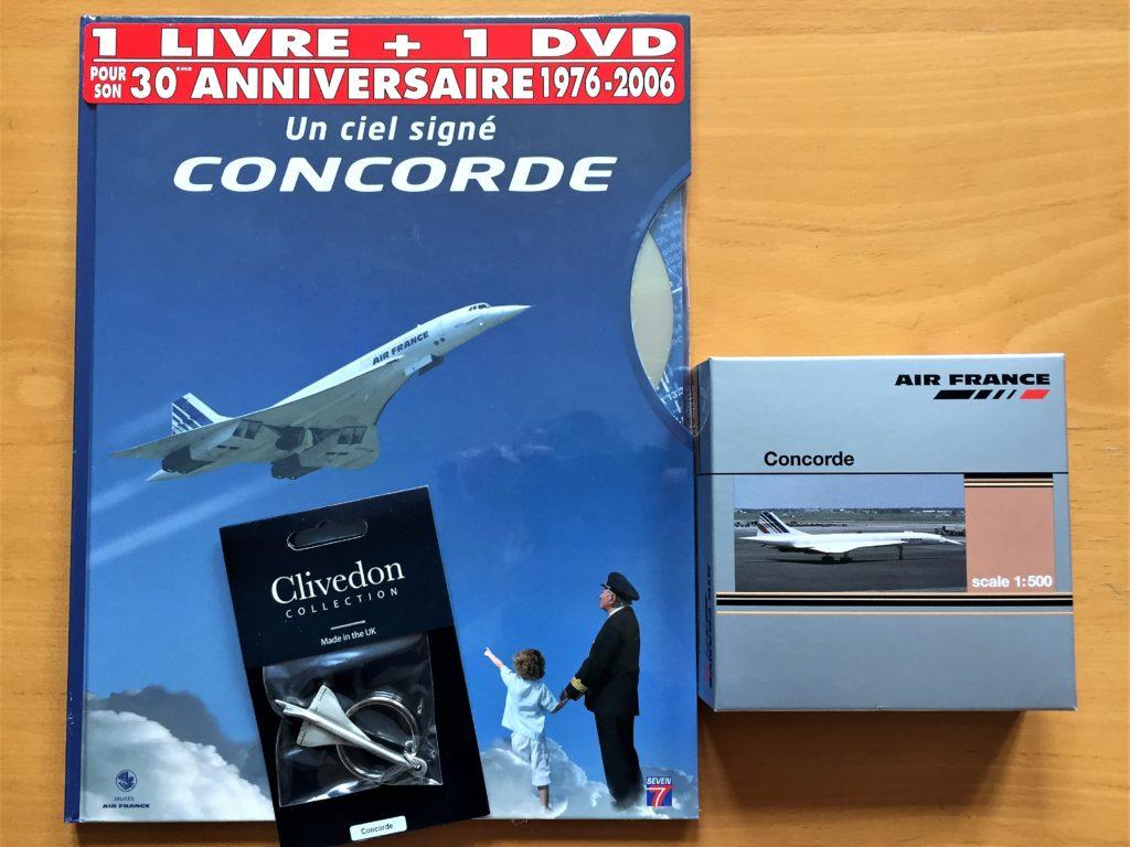ル・ブルジェ航空宇宙博物館のコンコルドのグッズ