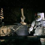 ル・ブルジェ航空宇宙博物館の宇宙飛行士の展示