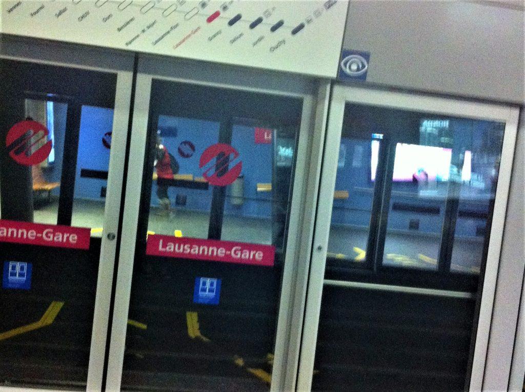 ローザンヌの地下鉄