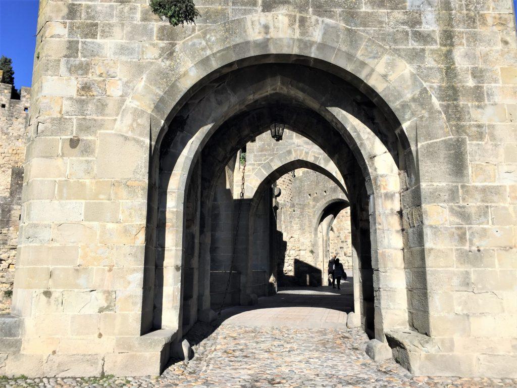 城塞都市カルカソンヌの内部