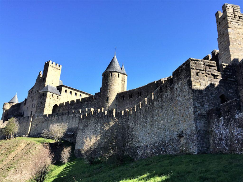 カルカソンヌの城壁