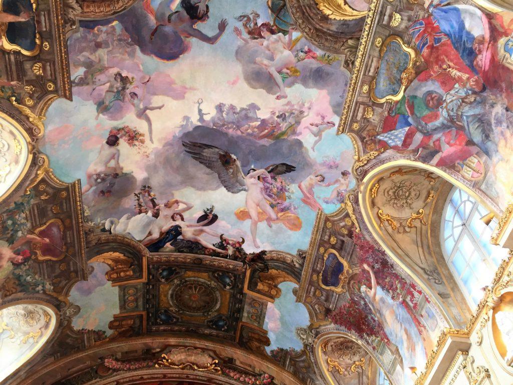 トゥールーズ市庁舎の天井