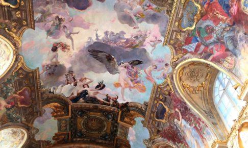 トゥールーズ市庁舎の天井画