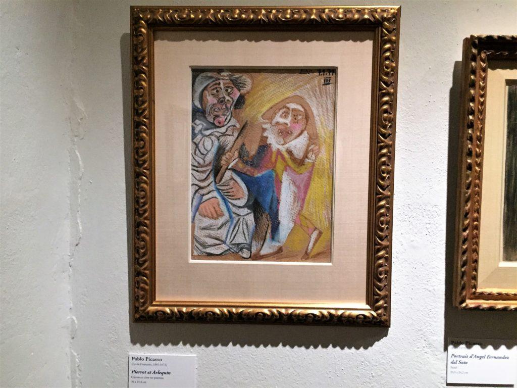 トゥールーズのアセザ館のピカソの絵