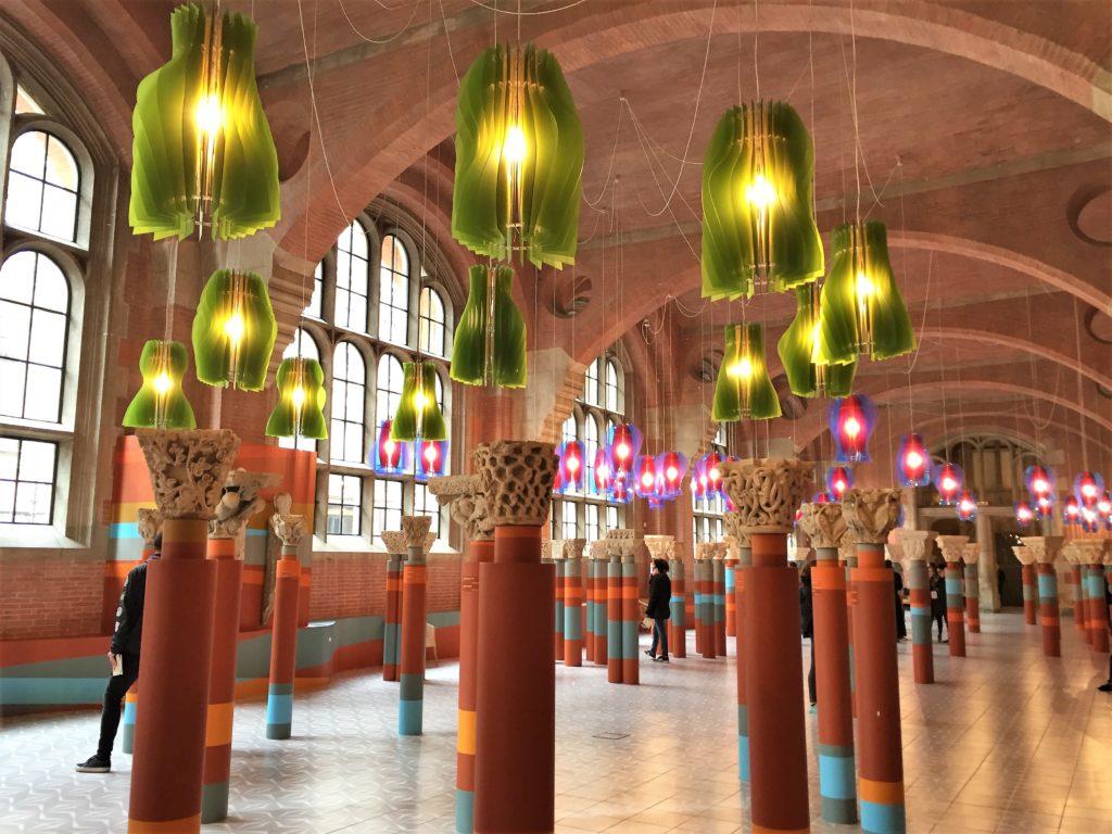 トゥールーズのオーギュスタン美術館の柱頭