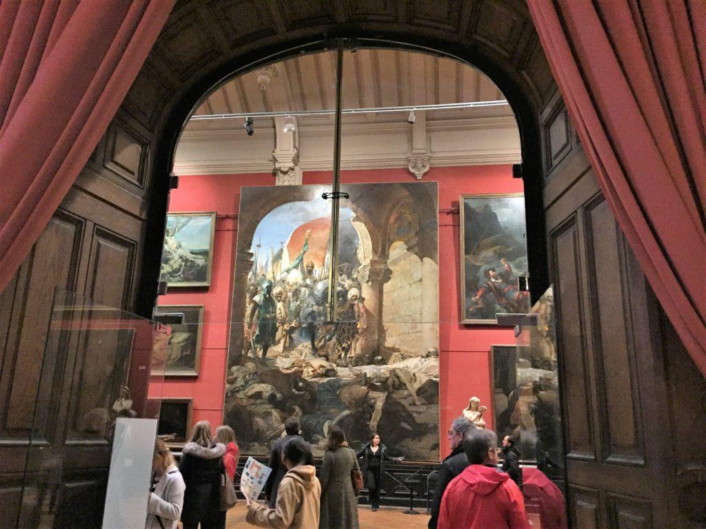 トゥールーズのオーギュスタン美術館の2階