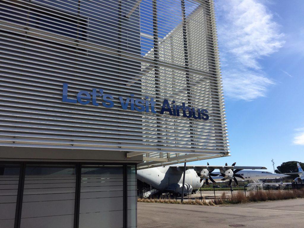 トゥールーズのエアバス工場見学