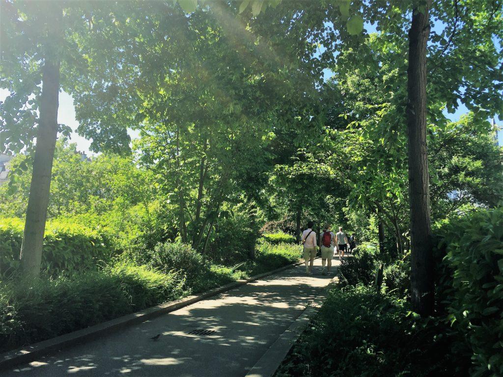 プロムナード・プランテの緑の散歩道