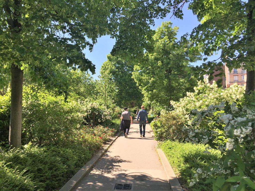 プロムナード・プランテの遊歩道