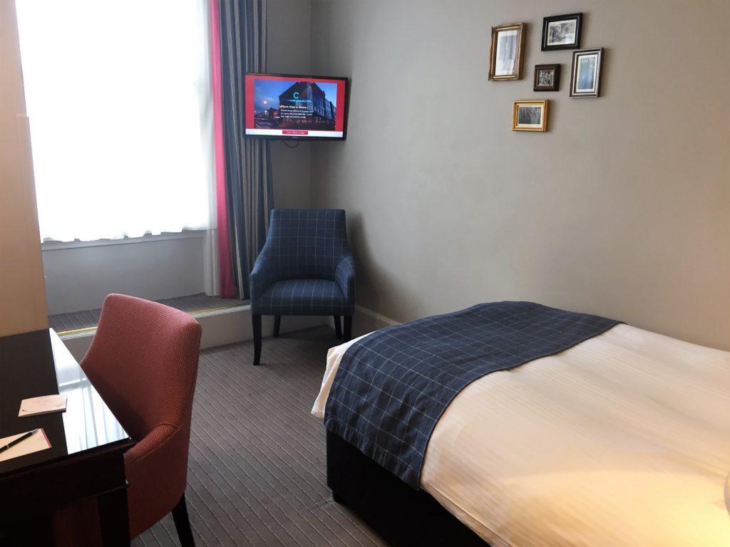 ロンドンのザ・ベイリーズ・ホテル・ロンドンのシングルルーム