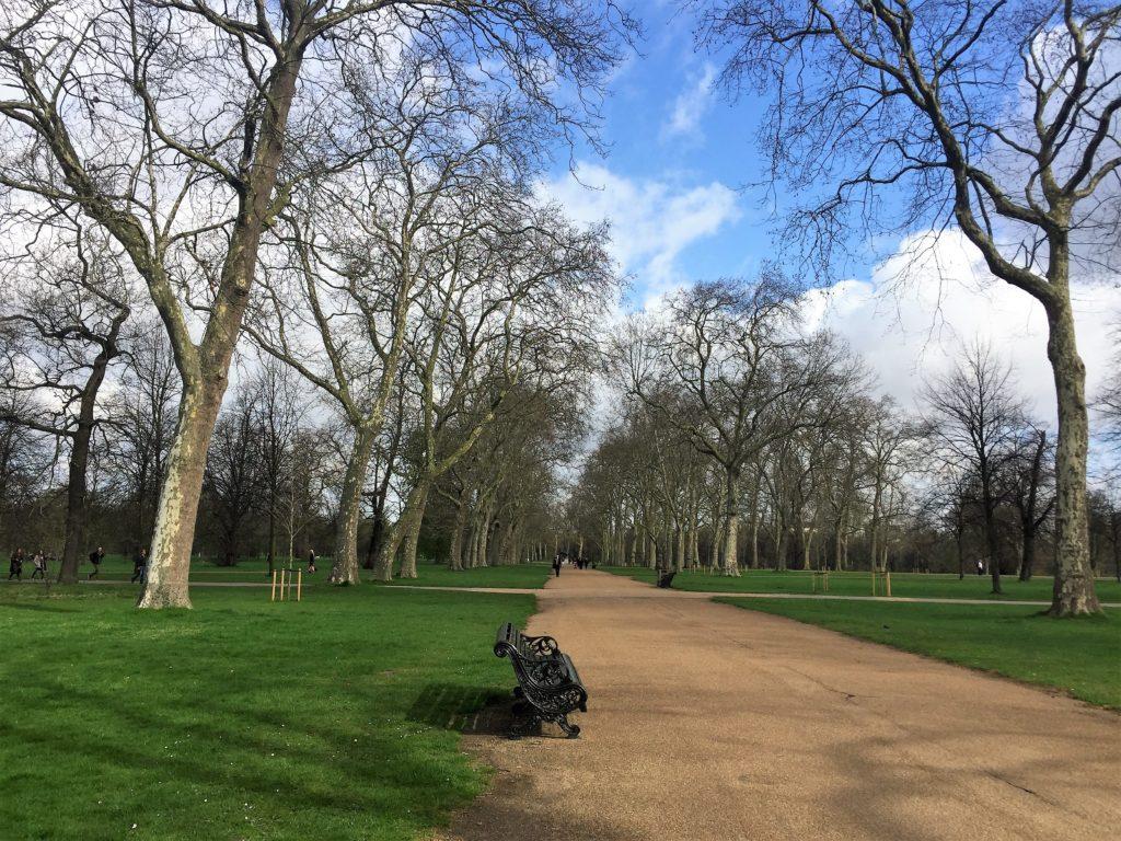 ロンドンのケンジントン公園