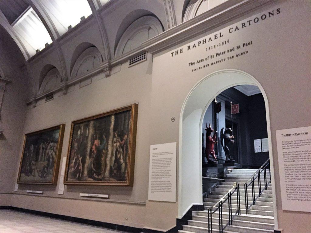 ヴィクトリア・アンド・アルバート博物館のラファエロ・カルトン