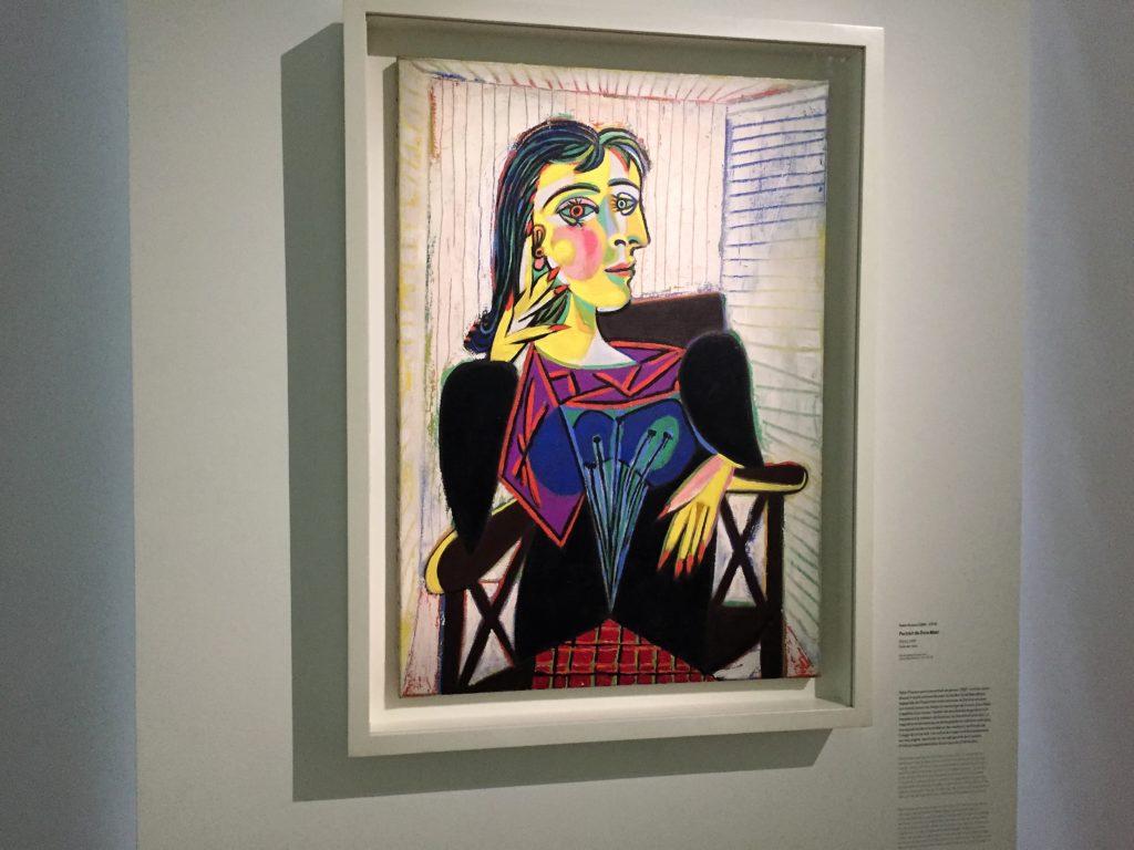 ピカソの「ドラ・マールの肖像」
