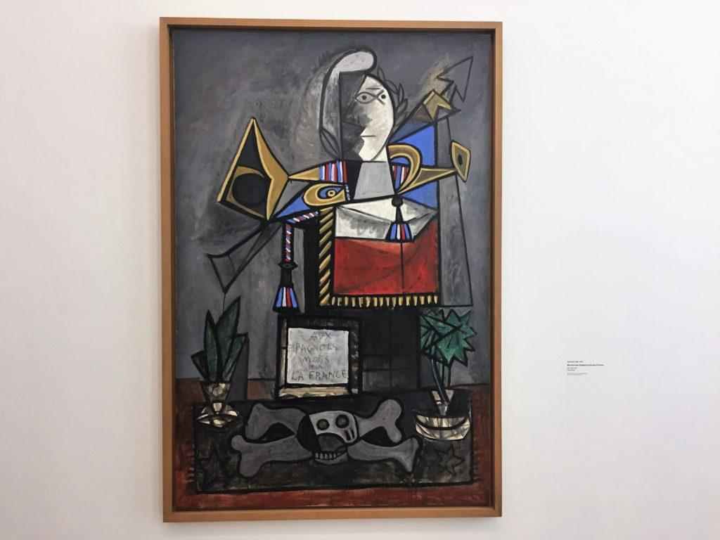 パリのピカソ美術館のピカソの作品