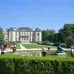 ロダン美術館の庭