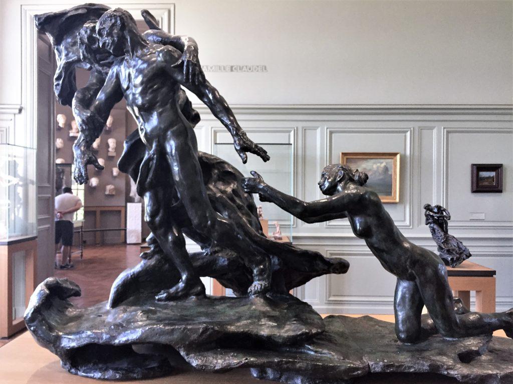 ロダンの弟子のカミーユ・クローデルの彫刻