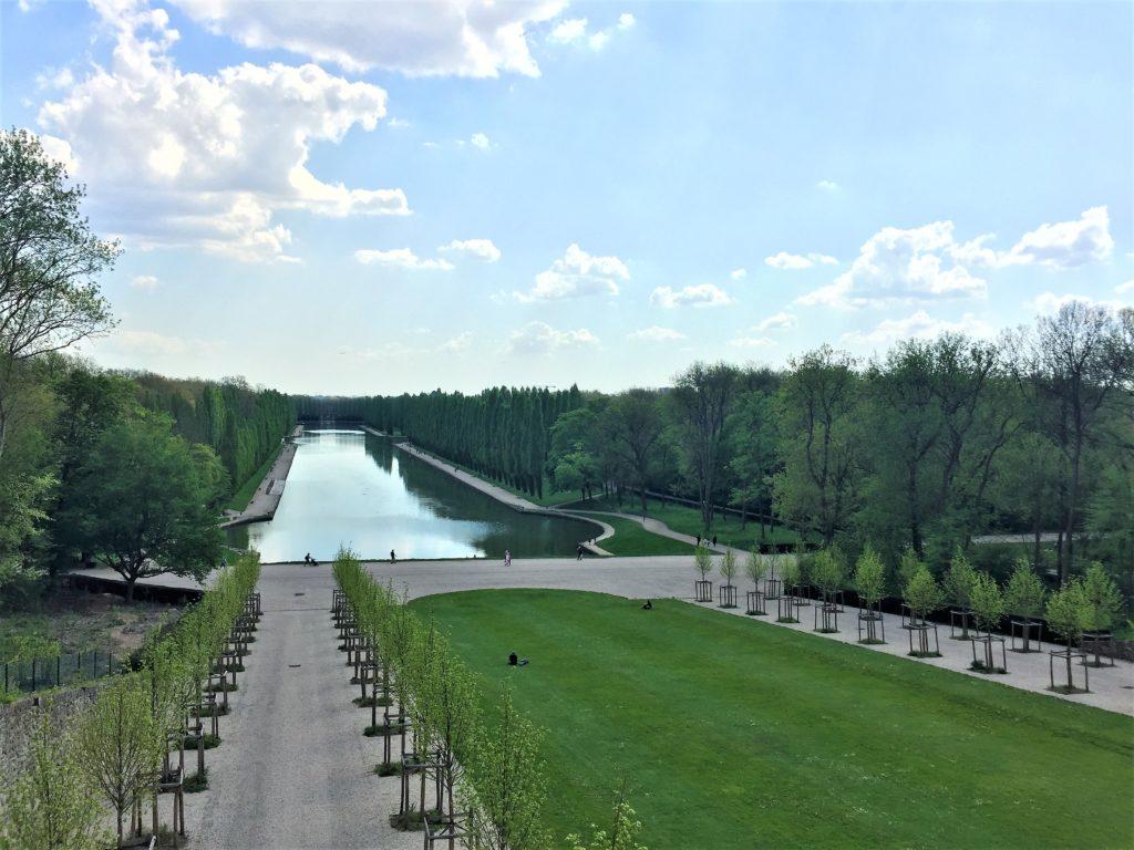 ソー公園のテラスと大運河