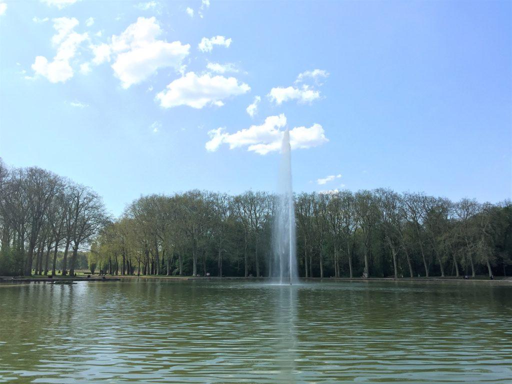 ソー公園の大運河にある噴水