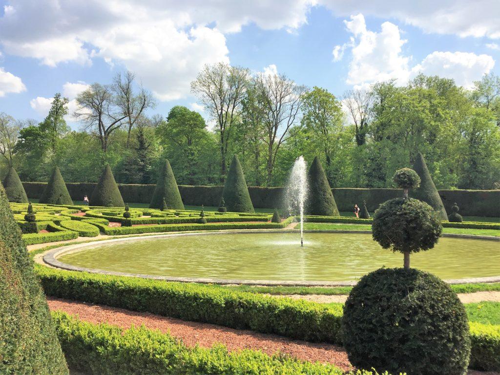 ソー公園のル・ノートル設計の庭園
