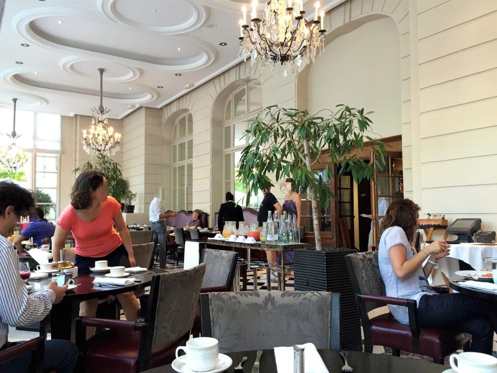 ウォルドフル・アストリア・トリアノン・パレス・ヴェルサイユの朝食