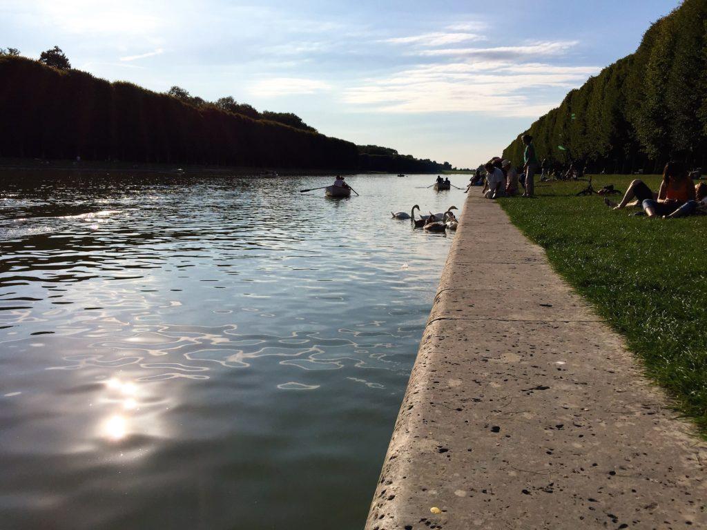 ヴェルサイユ宮殿の運河